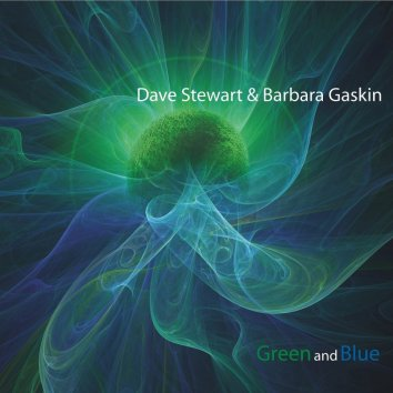 DAVE STEWART & BARBARA GASKIN / Green and Blue